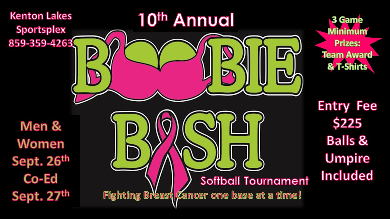 10th Annual Boobie Bash